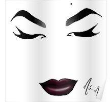 Miss Fame - Minimalist Queens Poster