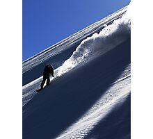 Mountain Shredder Photographic Print
