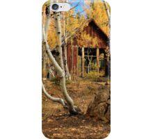 Old Cabin In The Aspens iPhone Case/Skin