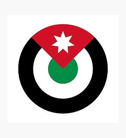 Royal Jordanian Air Force - Roundel Photographic Print
