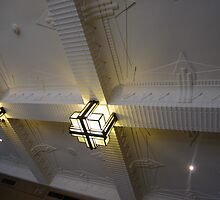 Nice ceiling at the foya of the Empire Theatre, Neil St. Toowoomba, Qld. Australia by Marilyn Baldey