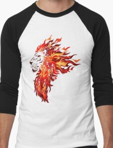 The heart of a Lion Men's Baseball ¾ T-Shirt