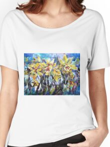 Daffodils - Flowers Art Gallery Women's Relaxed Fit T-Shirt