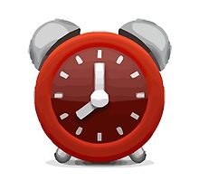 Alarm Clock Apple / WhatsApp Emoji by emoji