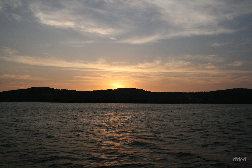 Sunset on Table Rock Lake by rfried