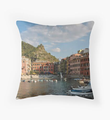 Vernazza - Italy Throw Pillow