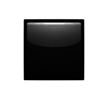 Black Medium Small Square Apple / WhatsApp Emoji by emoji