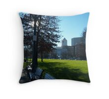 It's Green Here Throw Pillow
