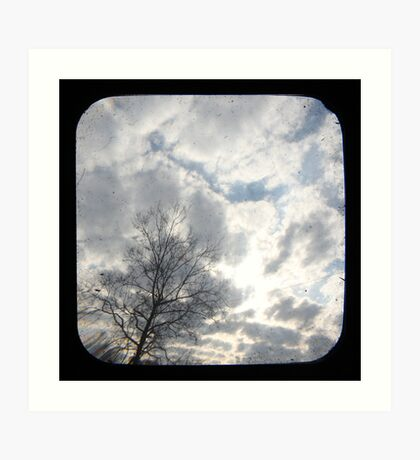 Clouds TTV Art Print