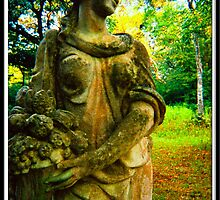 Old Statue at Myrtles Plantation by kimbeaux1969