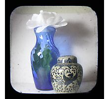 Still Life With Blue Vase TTV Photographic Print