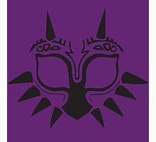 Majora's Mask Stencil Photographic Print