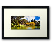 Stow Lake San Francisco Framed Print
