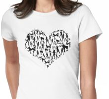 Girl at heart Womens Fitted T-Shirt
