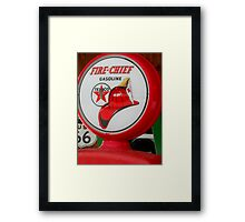 Americana Series:  Texaco  Framed Print