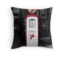 Americana Series:  Texaco Pump Throw Pillow