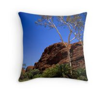 Cycads at Kings Canyon Throw Pillow