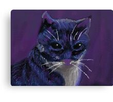 Dark Feline Canvas Print