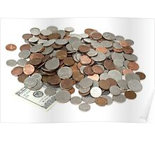 Money Pile Poster