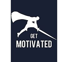 Get Motivated Photographic Print