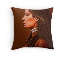 Raven Detail #2 Throw Pillow