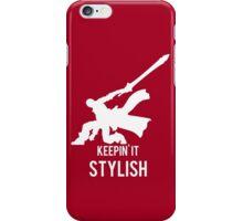 Keepin' It Stylish iPhone Case/Skin