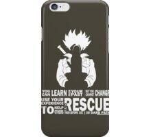 Future Trunks - Rescue iPhone Case/Skin