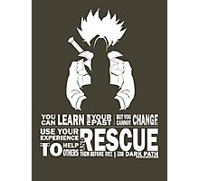 Future Trunks - Rescue Photographic Print
