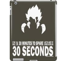 Gogeta - 30 Seconds iPad Case/Skin