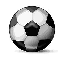 Soccer Ball Apple / WhatsApp Emoji by emoji