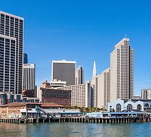 The Embarcadero, San Francisco, California by Skiptown