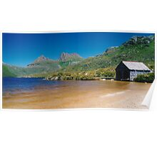 Dove Lake Boat Shed Poster