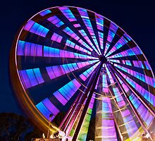 Rye Carnival - Ferris wheel by Keith Stead