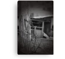 High Country Fence Post Canvas Print
