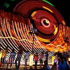 Revolving Boat - Rye Carnival by Keith Stead
