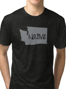 Washington Native WA Pride Tri-blend T-Shirt
