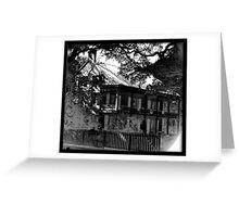 Plantation Home In Louisiana Greeting Card