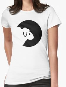 Sheep moon Womens Fitted T-Shirt