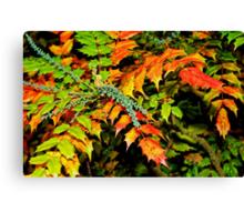 Autumn is a Painter #2, Haywards Heath, England Canvas Print
