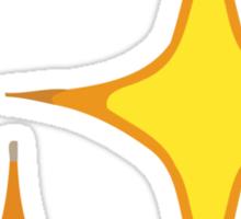 Sparkles Apple / WhatsApp Emoji Sticker