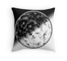 Glass Sphere Throw Pillow