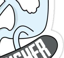 Perisher Shred Yeti - Boarder Sticker