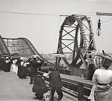 Atlantic City Rollercoaster, 1901 by historyphoto