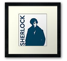 Sherlock - Self Explanatory  Framed Print