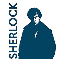 Sherlock - Self Explanatory  Photographic Print