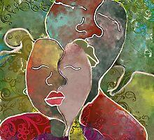 Family Portrait - Loving Leah by Faith Magdalene Austin