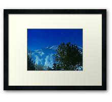 Washington Snow Framed Print