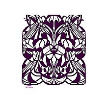 CATZ RULE COLOURING-IN PIC Photographic Print