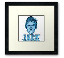 Handsome Jack - Hologram Framed Print