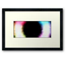Iris Irradiance Interpretation Indifference Framed Print